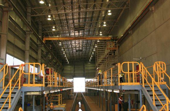 Fmg Rail Workshop And Wheel Lathe Building Decmil
